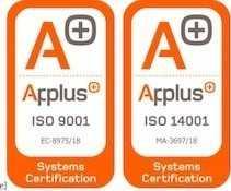 certificados aenor y pluss
