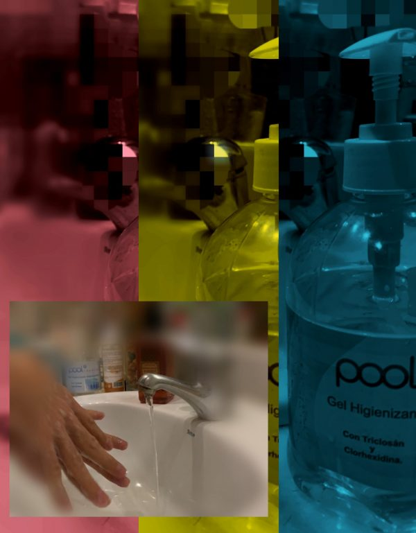 gel desinfectante diseño